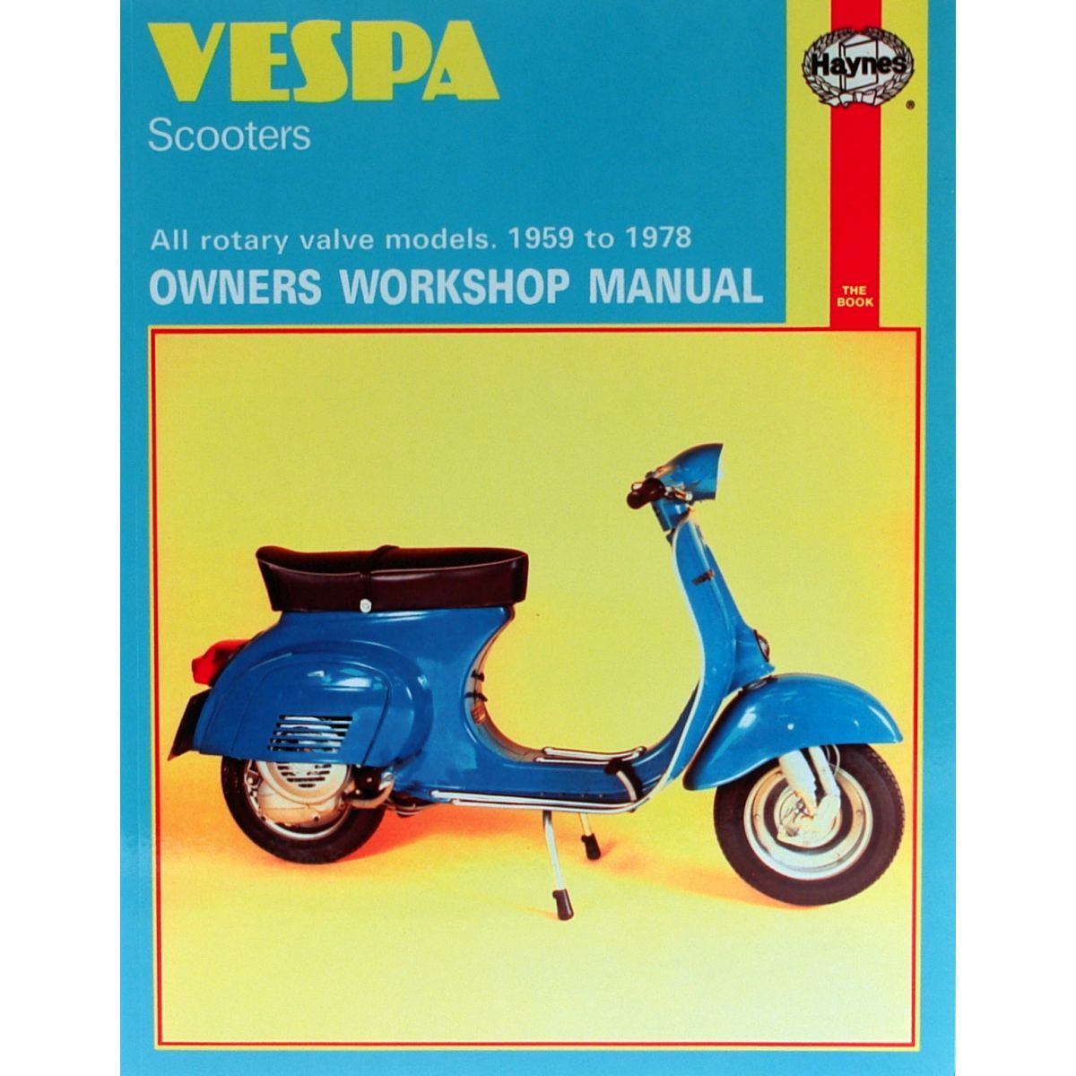 VLB1T 145cc Manual Haynes for 1972 Vespa 150 Sprint