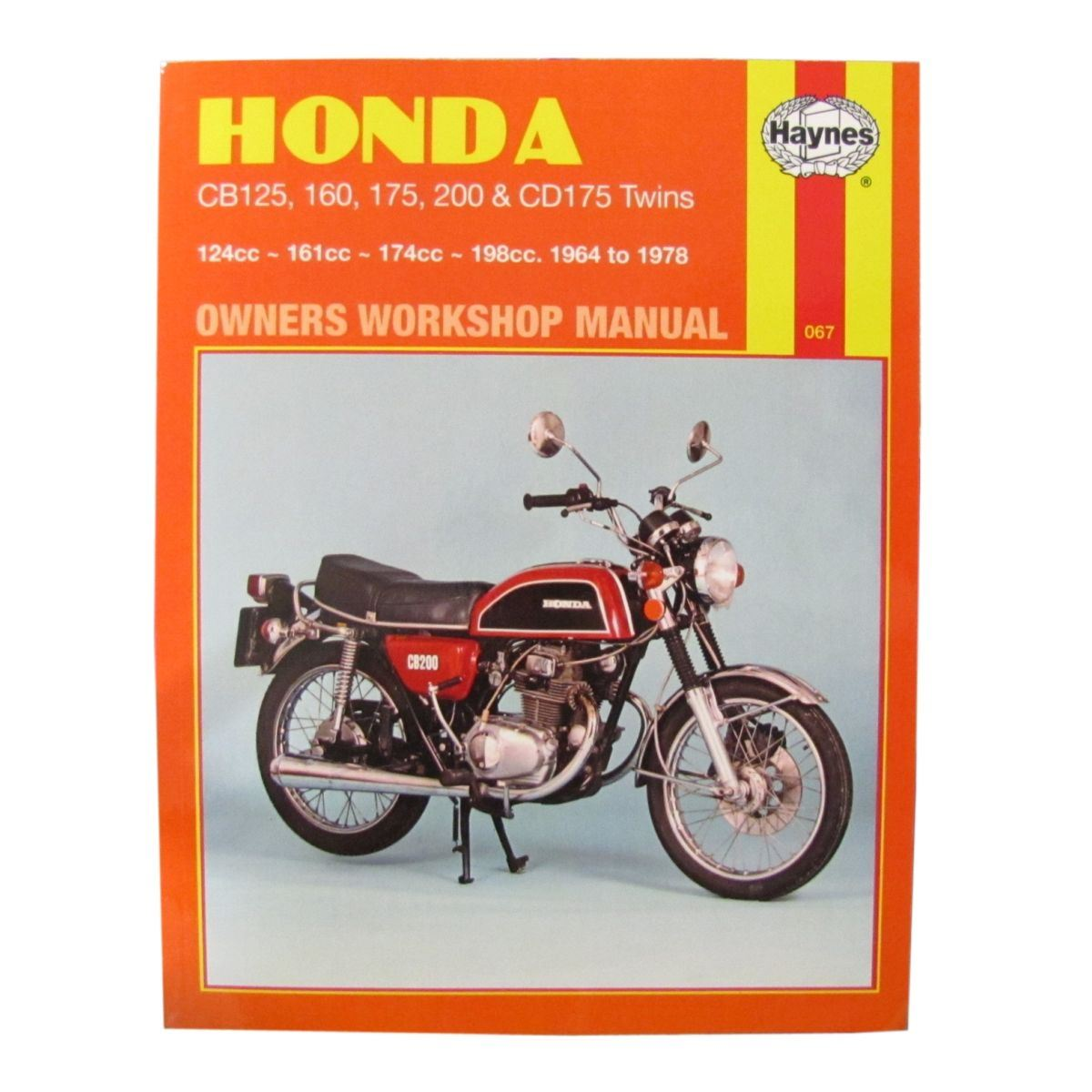 Owner & Operator Manuals Twin Manual Haynes for 1978 Honda CD 175 ...