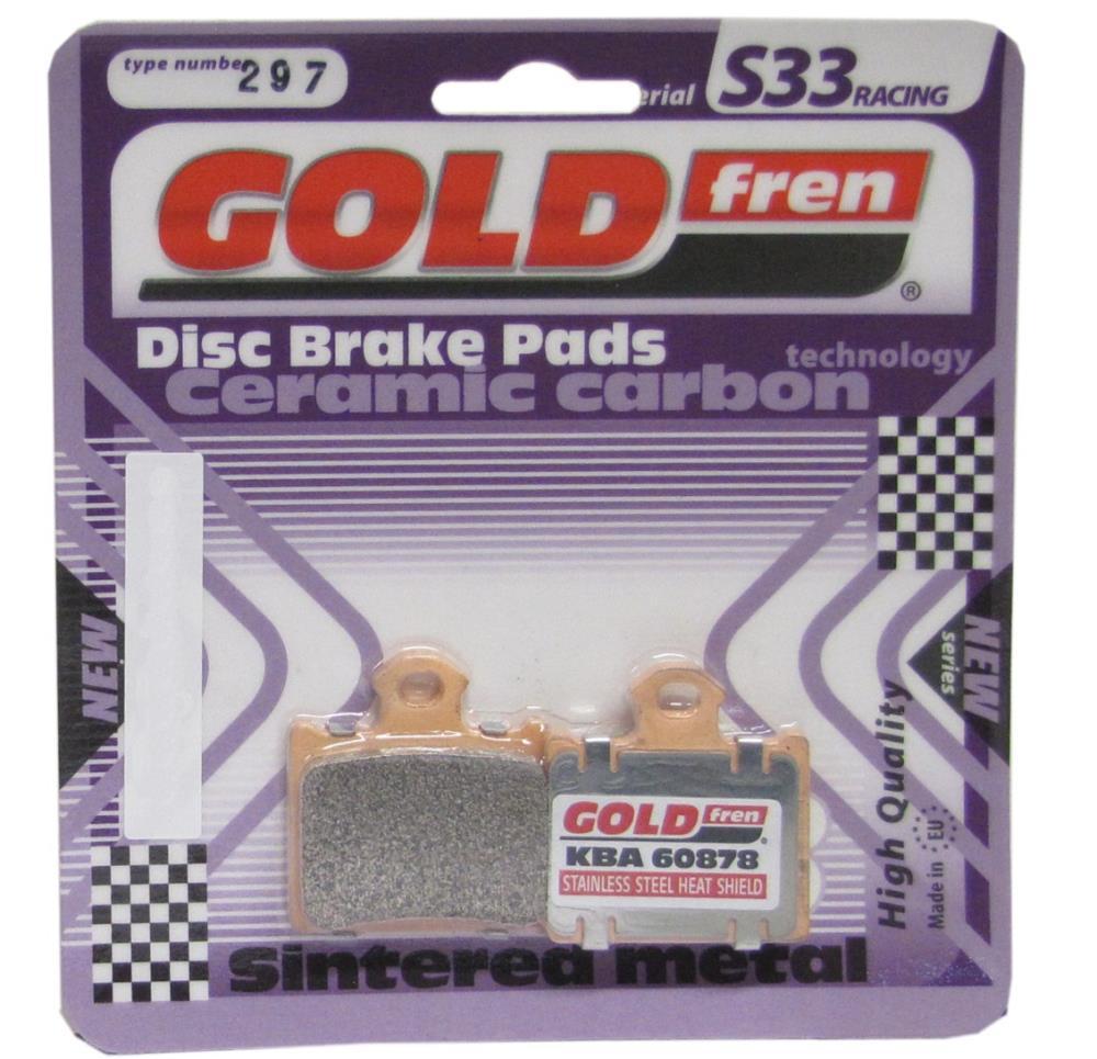 FA602 Pair Goldfren 297-S33 SBS872 DP508 Disc Pads