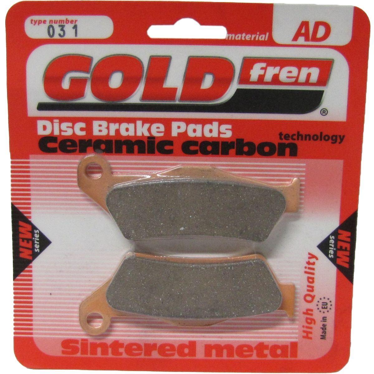 Brake Disc Pads Front R/H Goldfren for 2002 Husqvarna TE 250