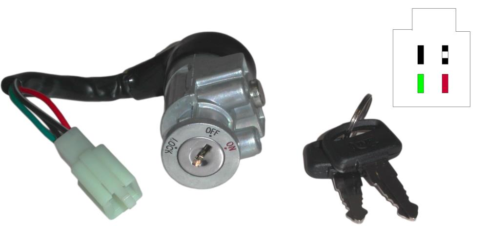 Ignition Switch for 1983 Honda NH 125 MDD Lead