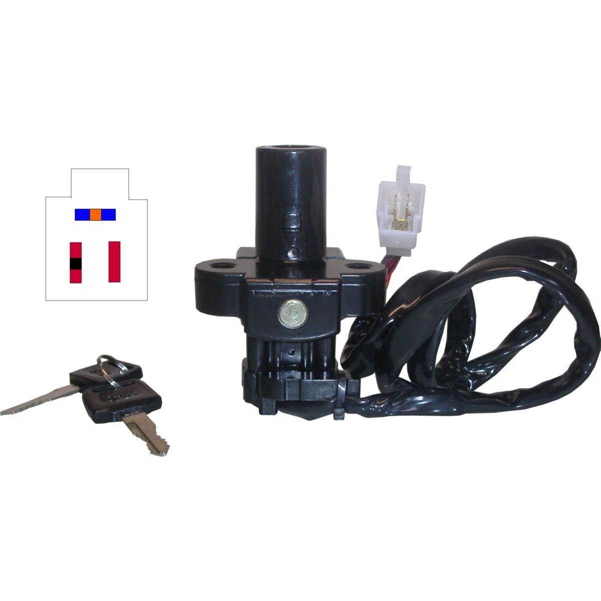 Ignition Switch for 1995 Honda XRV 750 S Africa Twin RD07