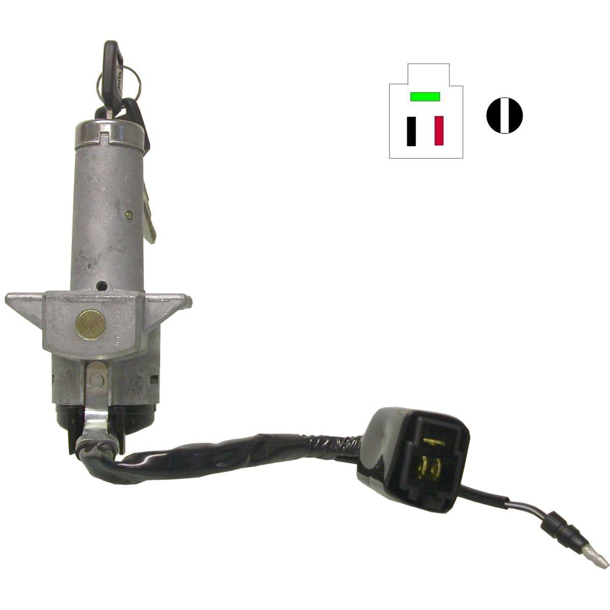 Ignition Switch Honda XLV750 4 Wires