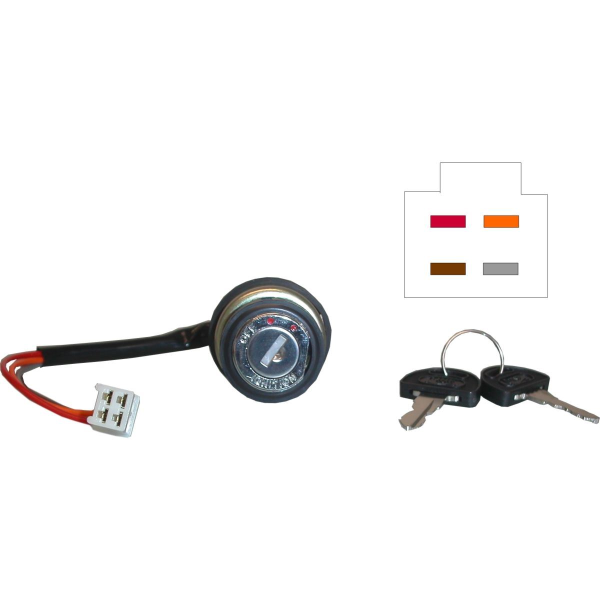 Ignition Switch for 1973 Suzuki GT 380 K