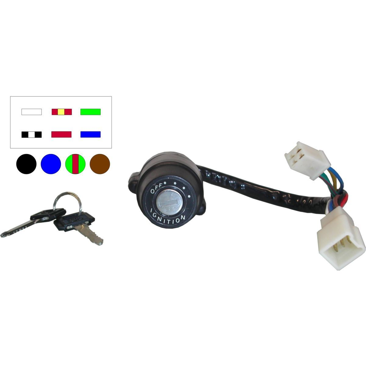 Drum Ignition Switch for 1978 Yamaha RS 100