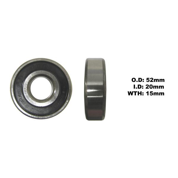 Front Disc /& Rear Disc Wheel Bearing Rear L//H for 1978 Yamaha RD 250 E