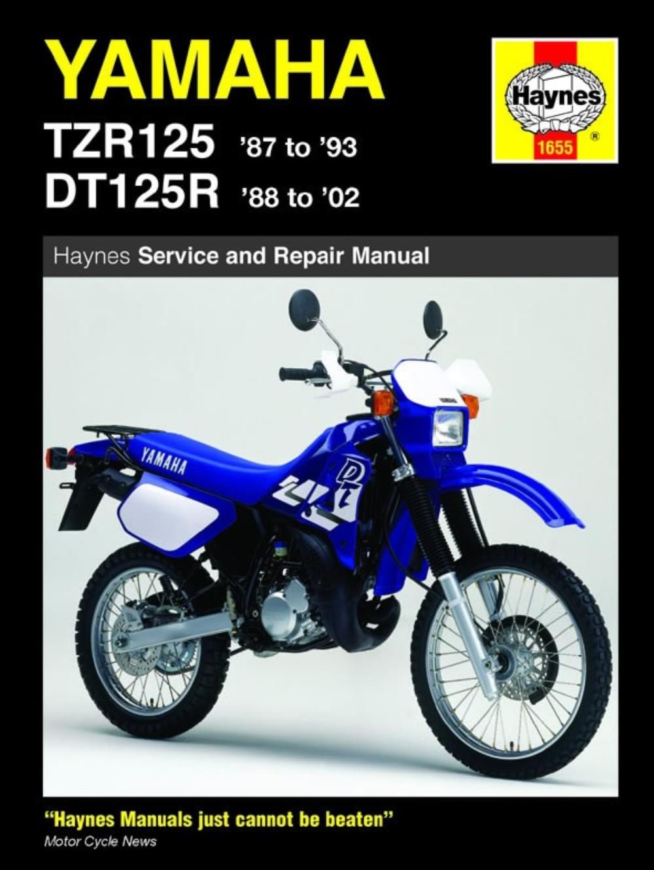 Manual Haynes For 1988 Yamaha Dt 125 R 3db1 Ebay
