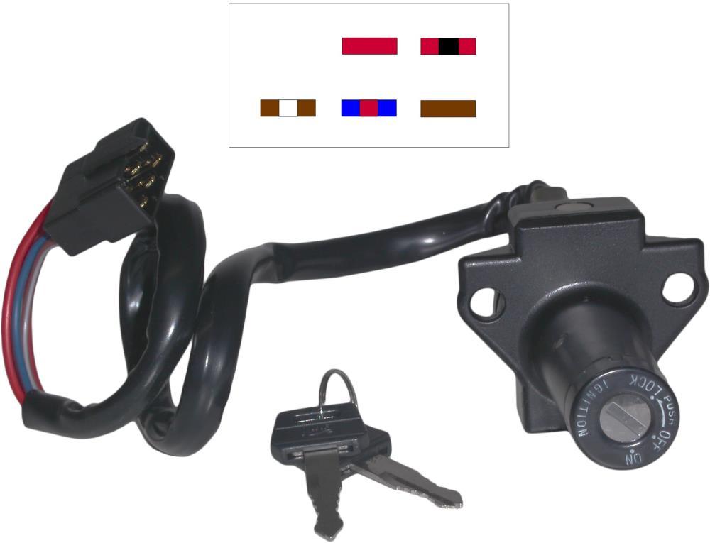 Honda VF500 F CBR600 R VF700 C VF750 C VF750 S VF750 F CBR1000F Ignition Switch