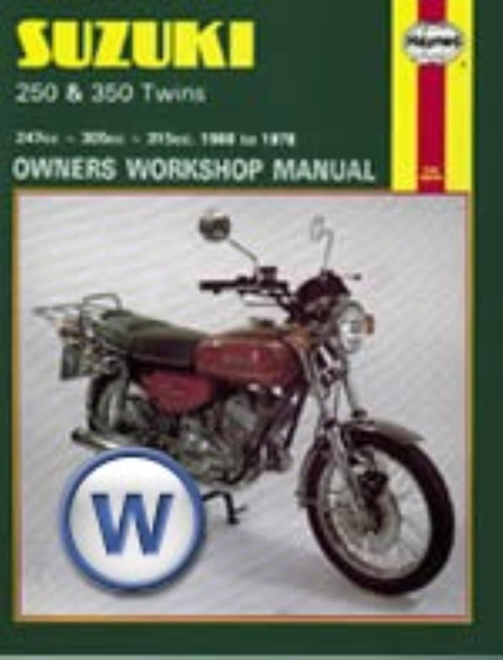 Image is loading Manual-Haynes-for-1974-Suzuki-GT-250-L