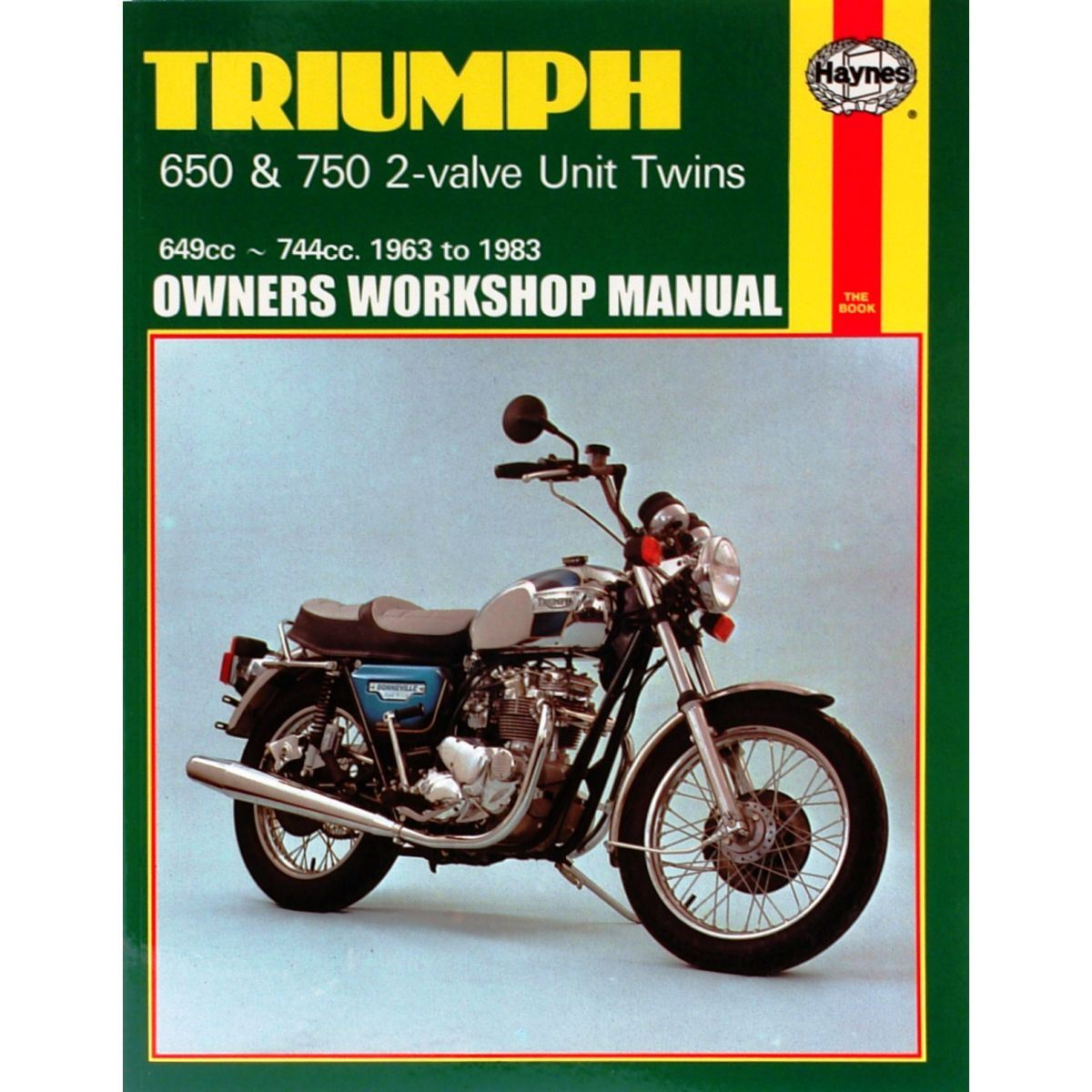 Image is loading Manual-Haynes-for-1967-Triumph-T120-Bonneville-649cc