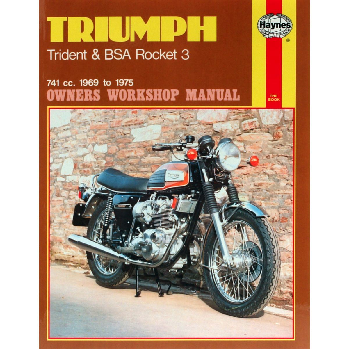 Image is loading Manual-Haynes-for-1973-Triumph-TRX75-Hurricane-741cc