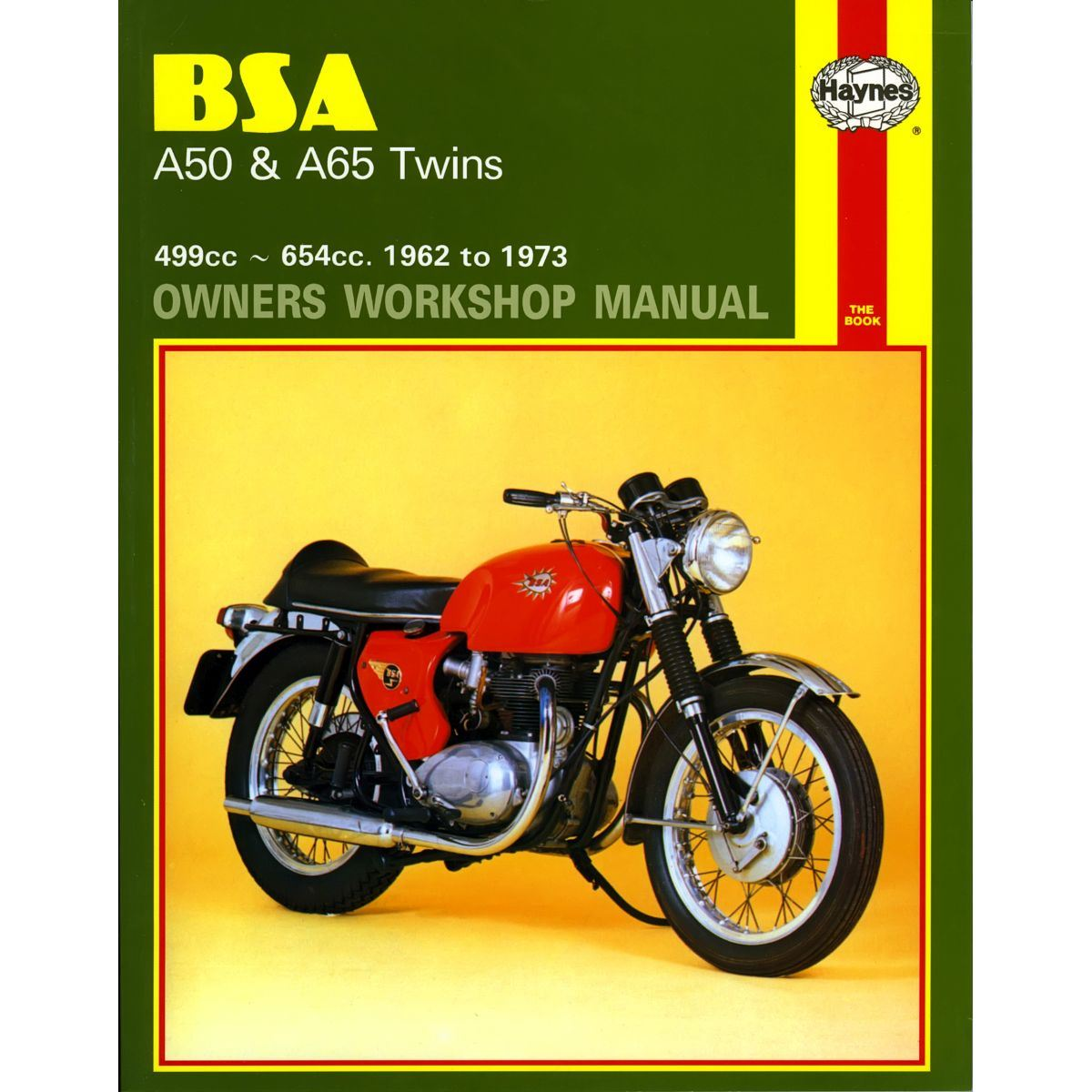 Image Is Loading Manual Haynes For 1968 BSA A 651T Thunderbolt