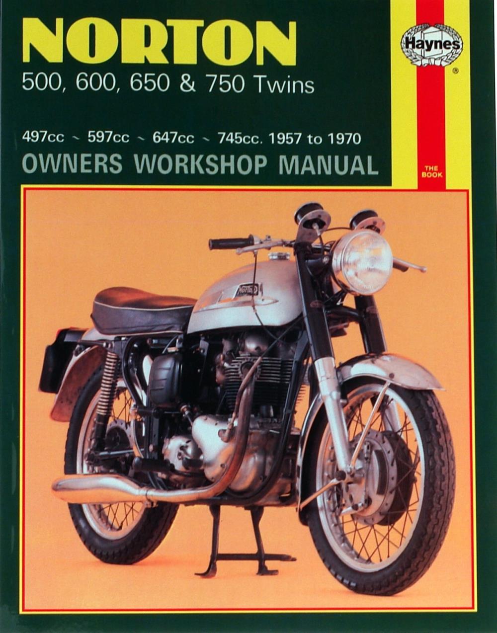Details about Manual Haynes for 1958 Norton Dominator 88 (497cc)