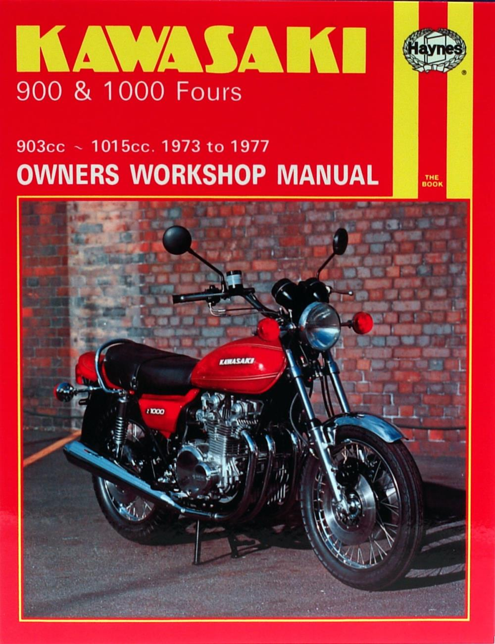 Image Is Loading Manual Haynes For 1973 Kawasaki Z1 900cc