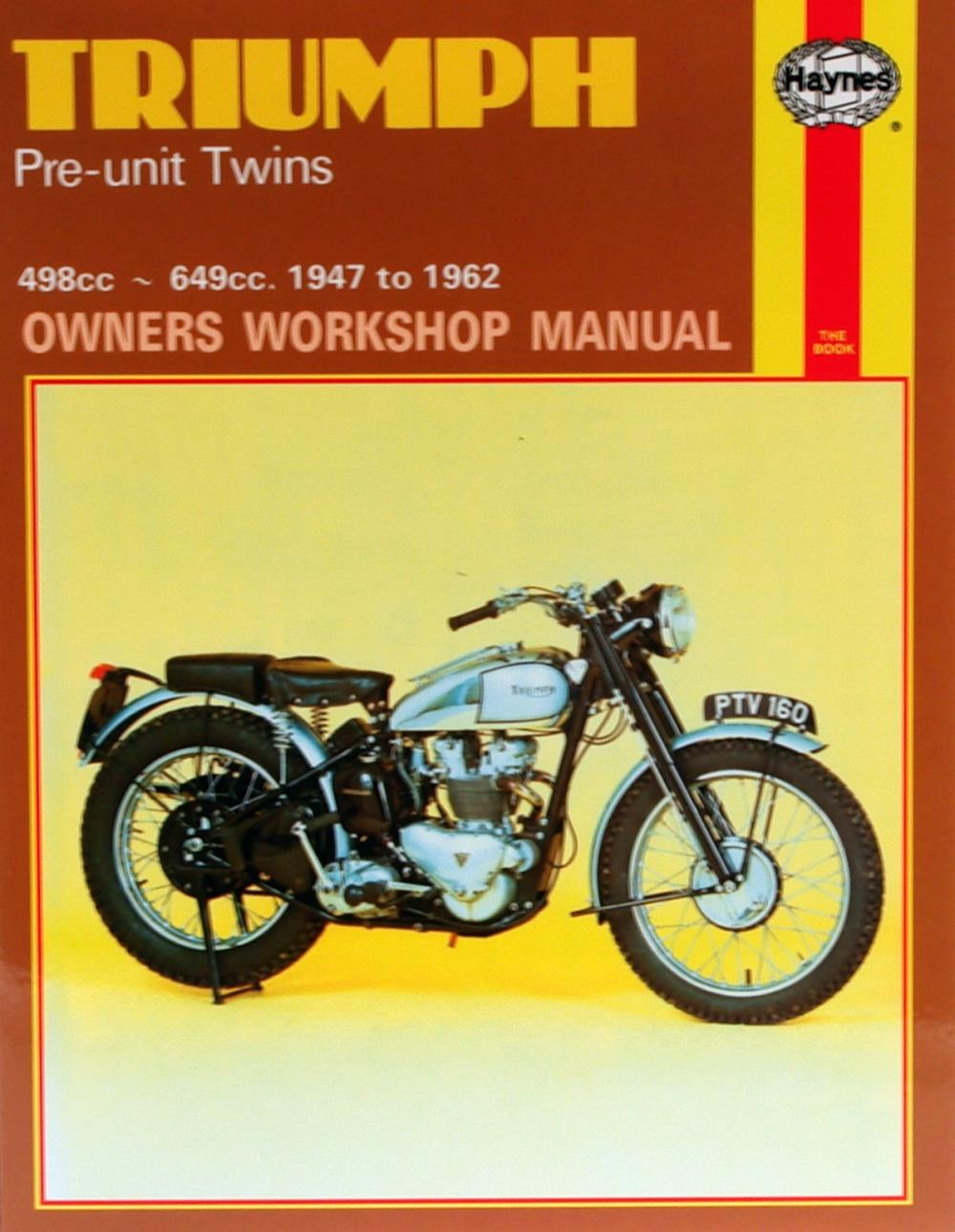 Print & Online Triumph Motorcycle Repair Manuals - Haynes Publishing
