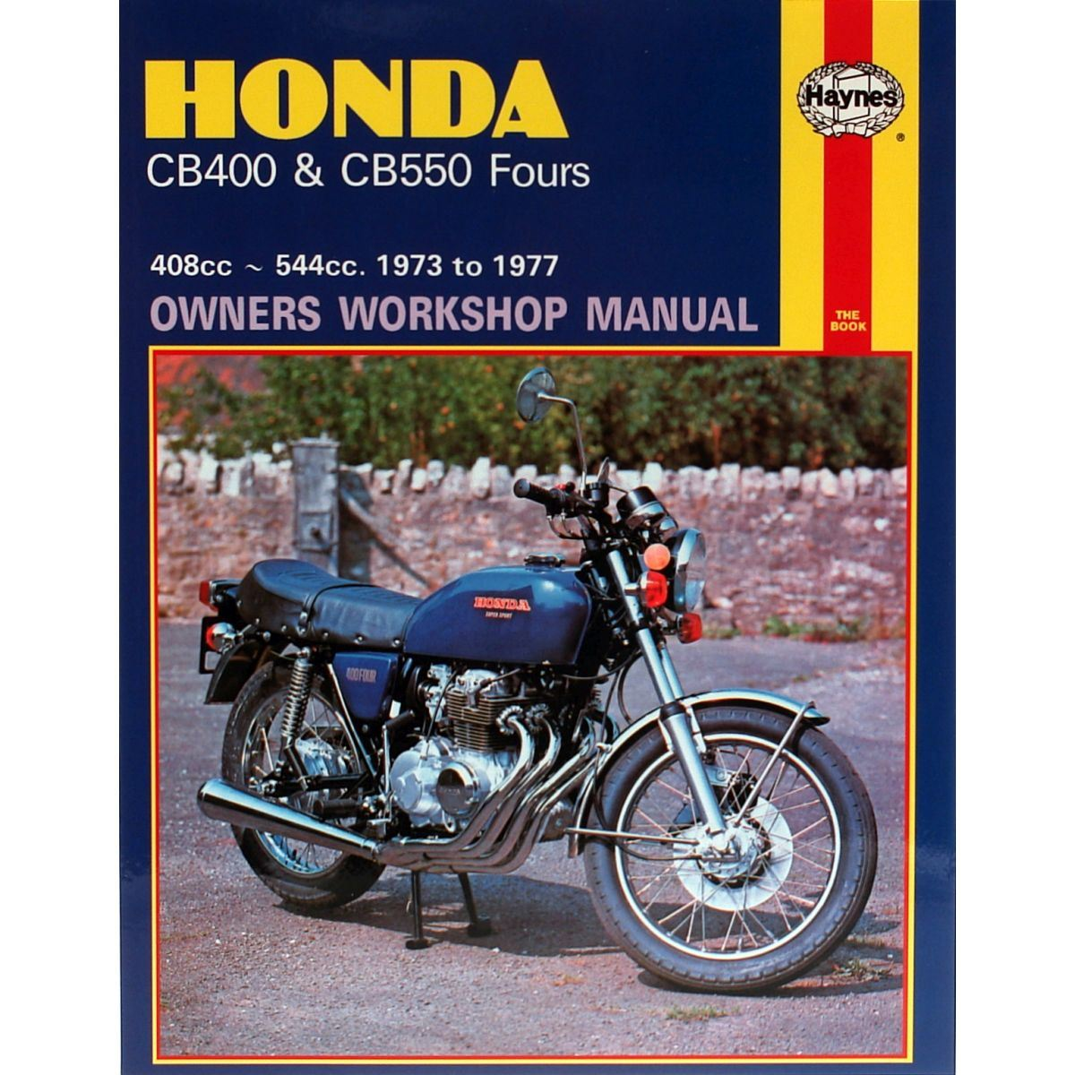 honda 400 four cb550 haynes owners manual repair book 1973 ebay rh ebay co uk cb400 super four service manual pdf cb400 super four service manual