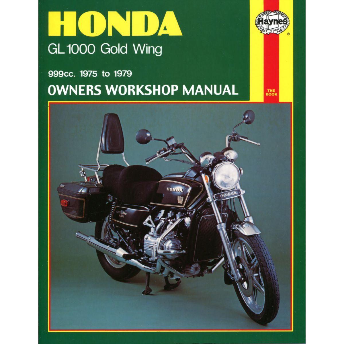 Image is loading Manual-Haynes-for-1976-Honda-GL-1000-K1-