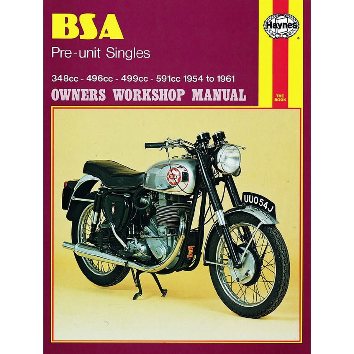 Manual Haynes for 1956 BSA CB/DB/DBD34 Goldstar (499cc)