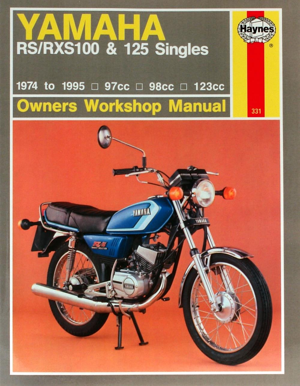 Image is loading Manual-Haynes-for-1981-Yamaha-RS-125-DX-