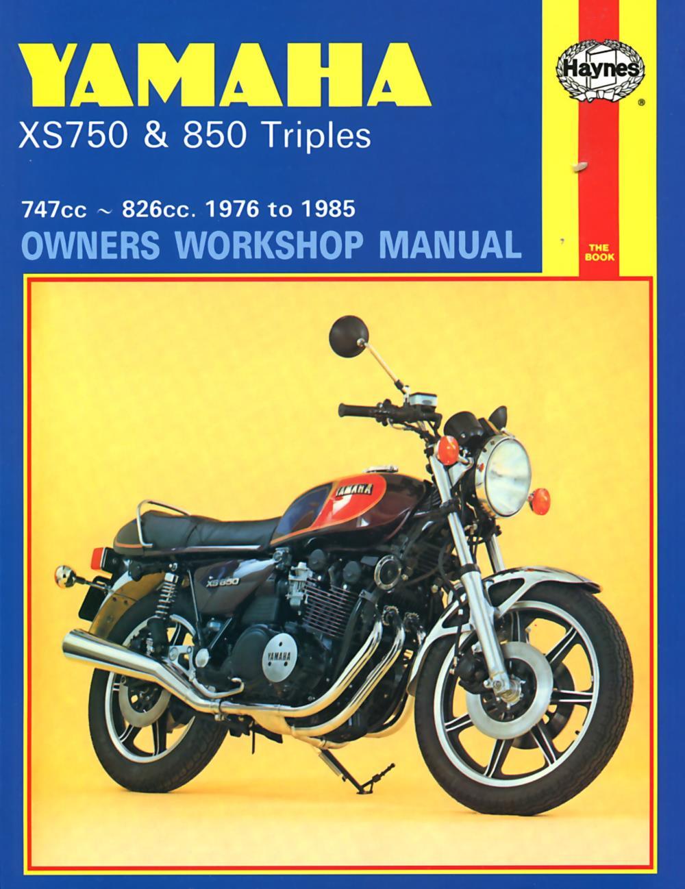 manual haynes for 1980 yamaha xs 850 sg ebay rh ebay co uk Yamaha XS Cafe yamaha xs 850 repair manual