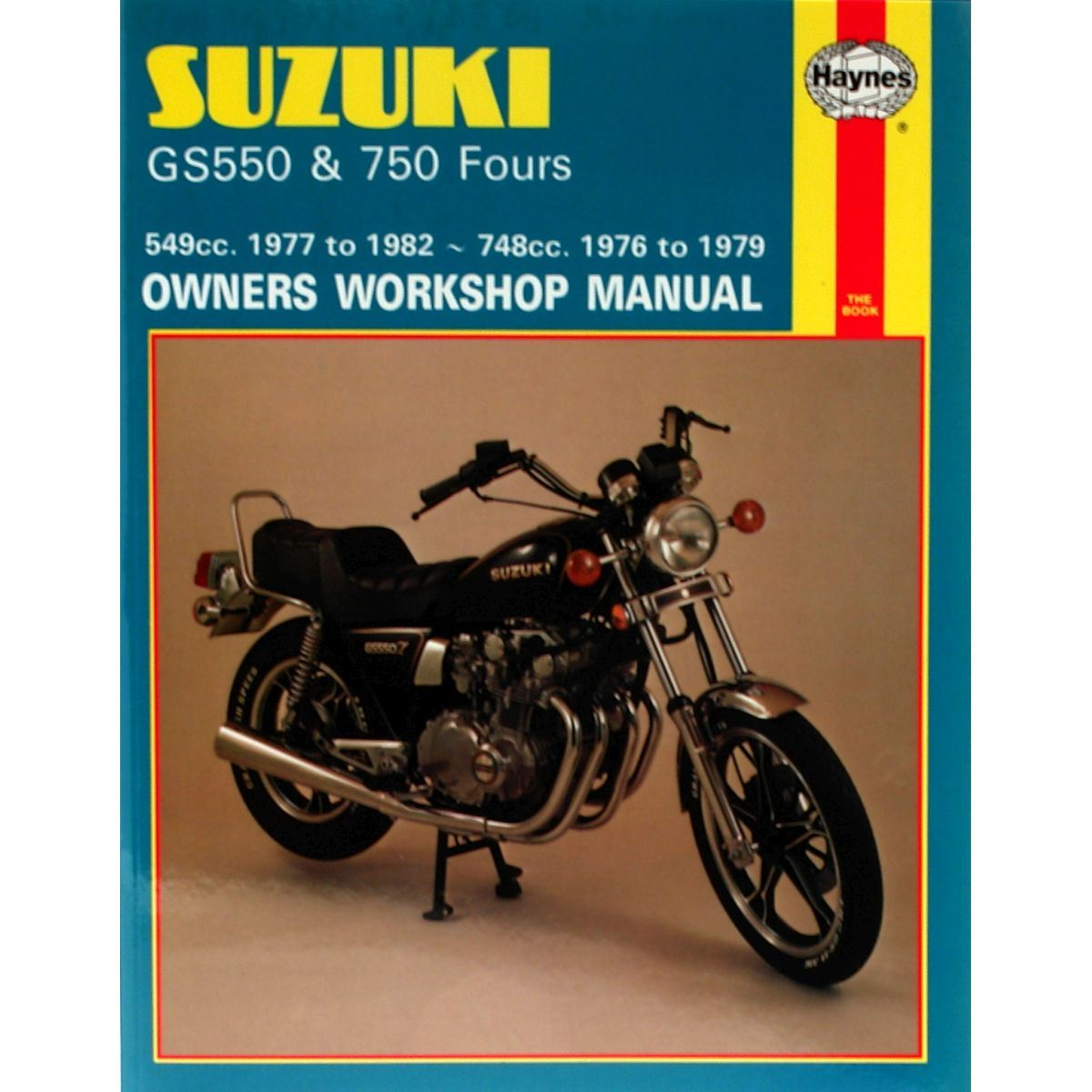 manual haynes for 1981 suzuki gs 550 mx katana ebay rh ebay co uk 2011 Suzuki Katana 1982 Suzuki Katana 550