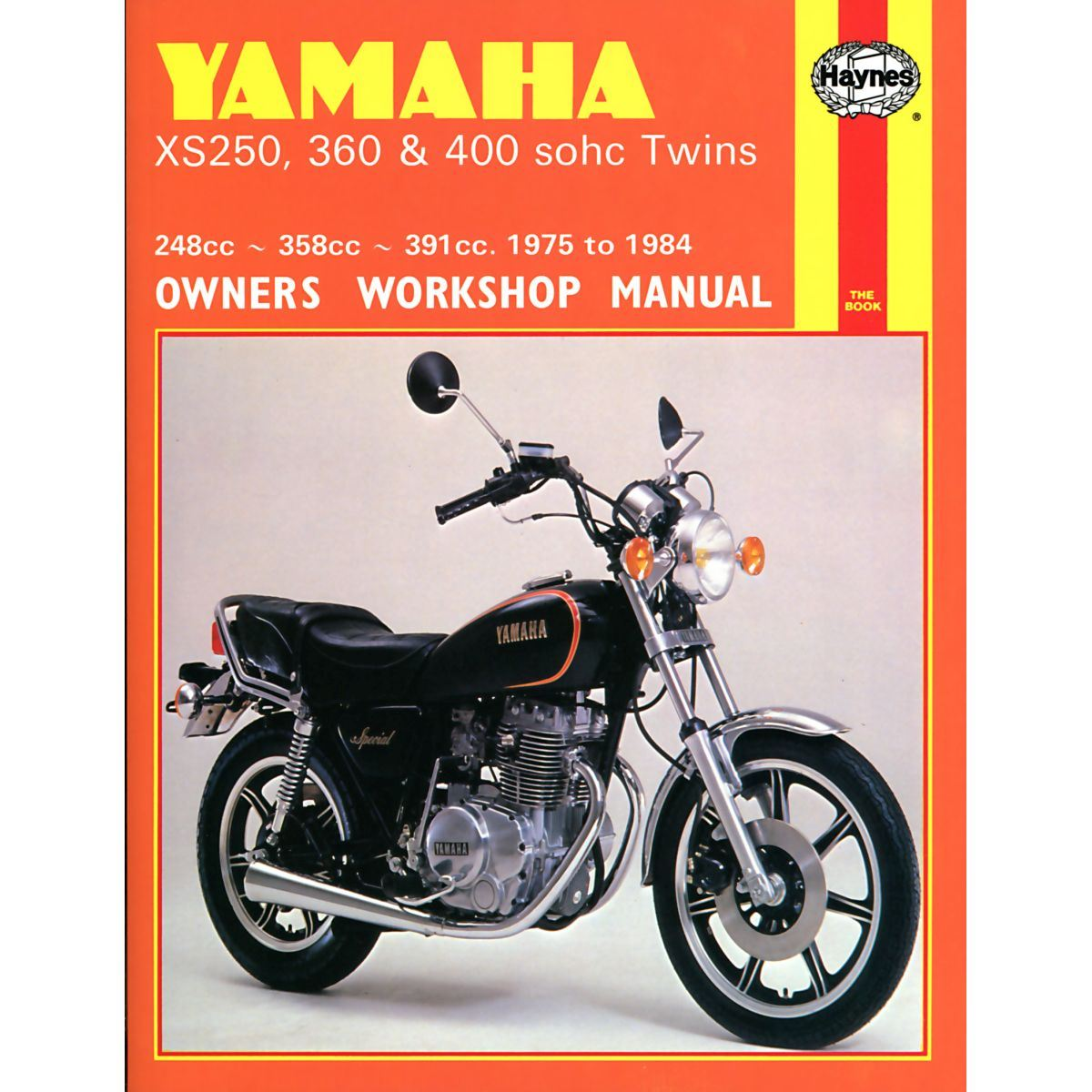 Manual Haynes For 1977 Yamaha Xs 400 D Sohc 2a2 9900 1981 Wiring Schematic