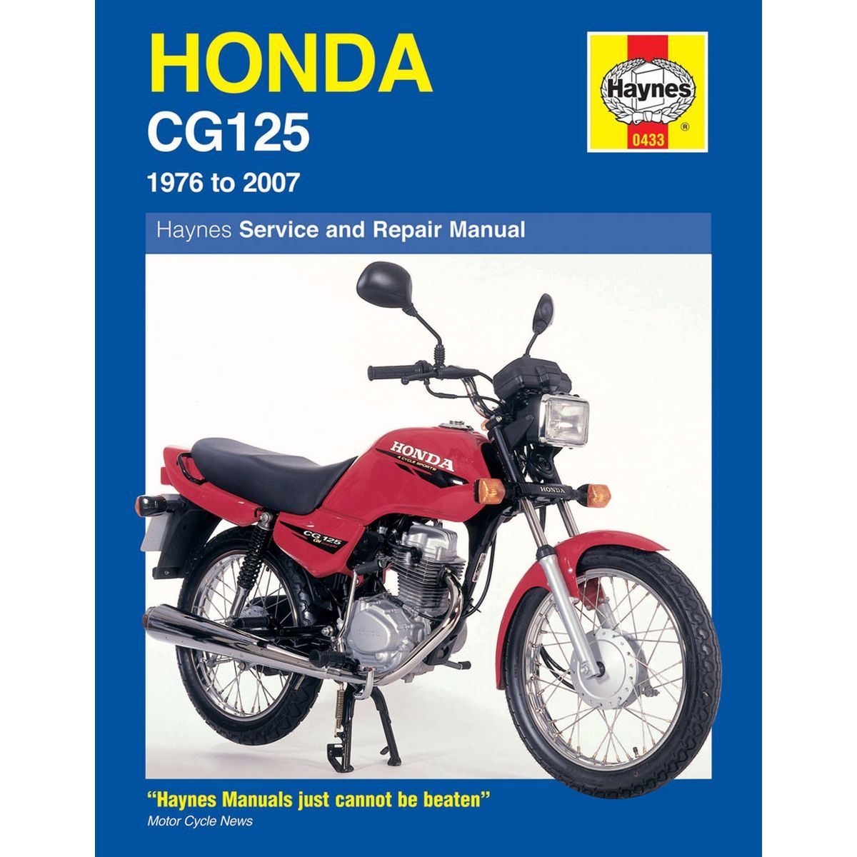 Manual Haynes For 2008 Honda Cg 125 Es8