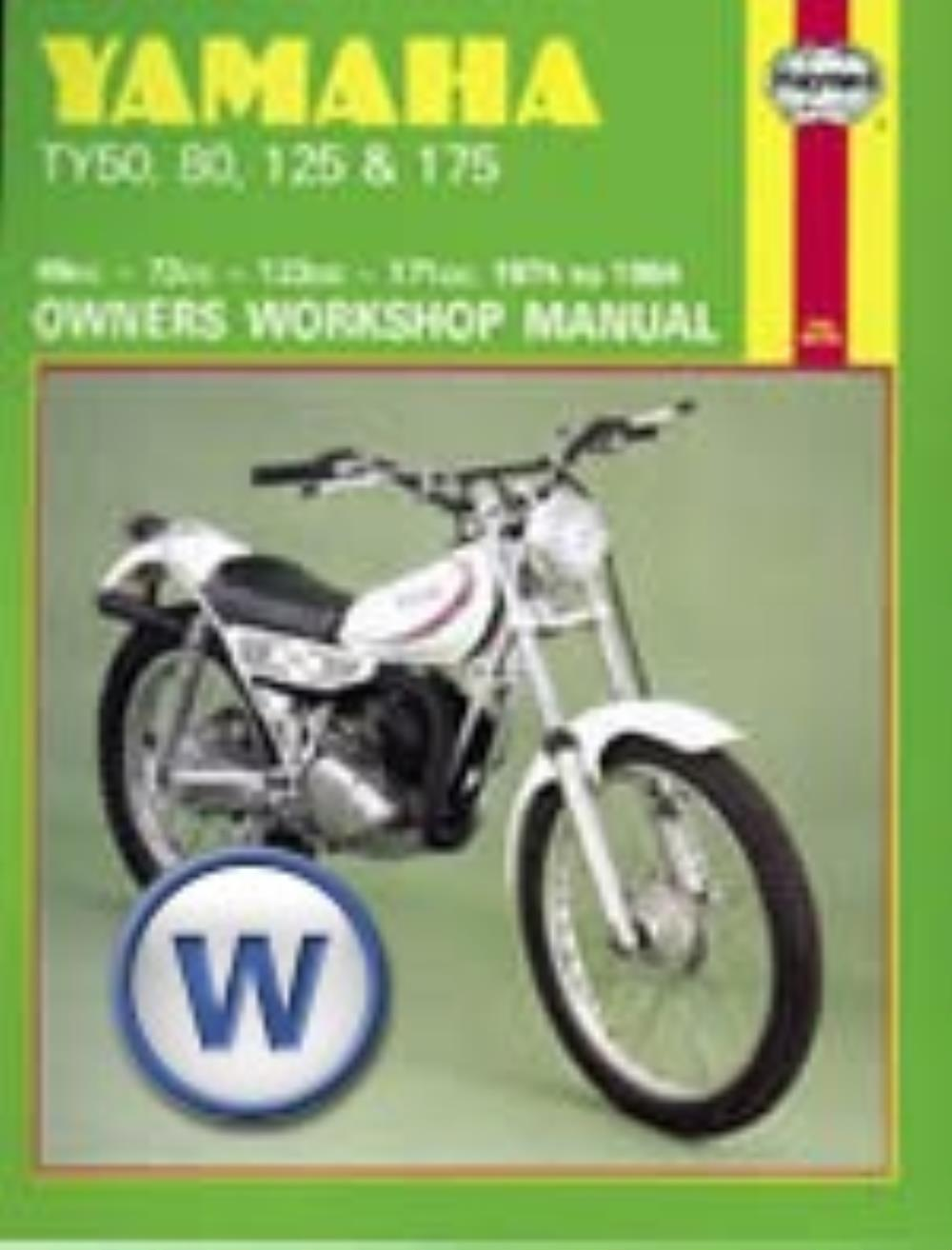 Manual Haynes for 1984 Yamaha TY 80
