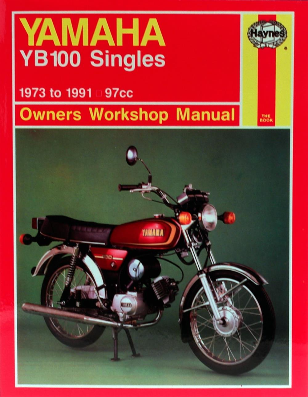manual haynes for 1973 yamaha yb 100 ebay rh ebay co uk 100 Cc Yamaha YB Yamaha RX 100