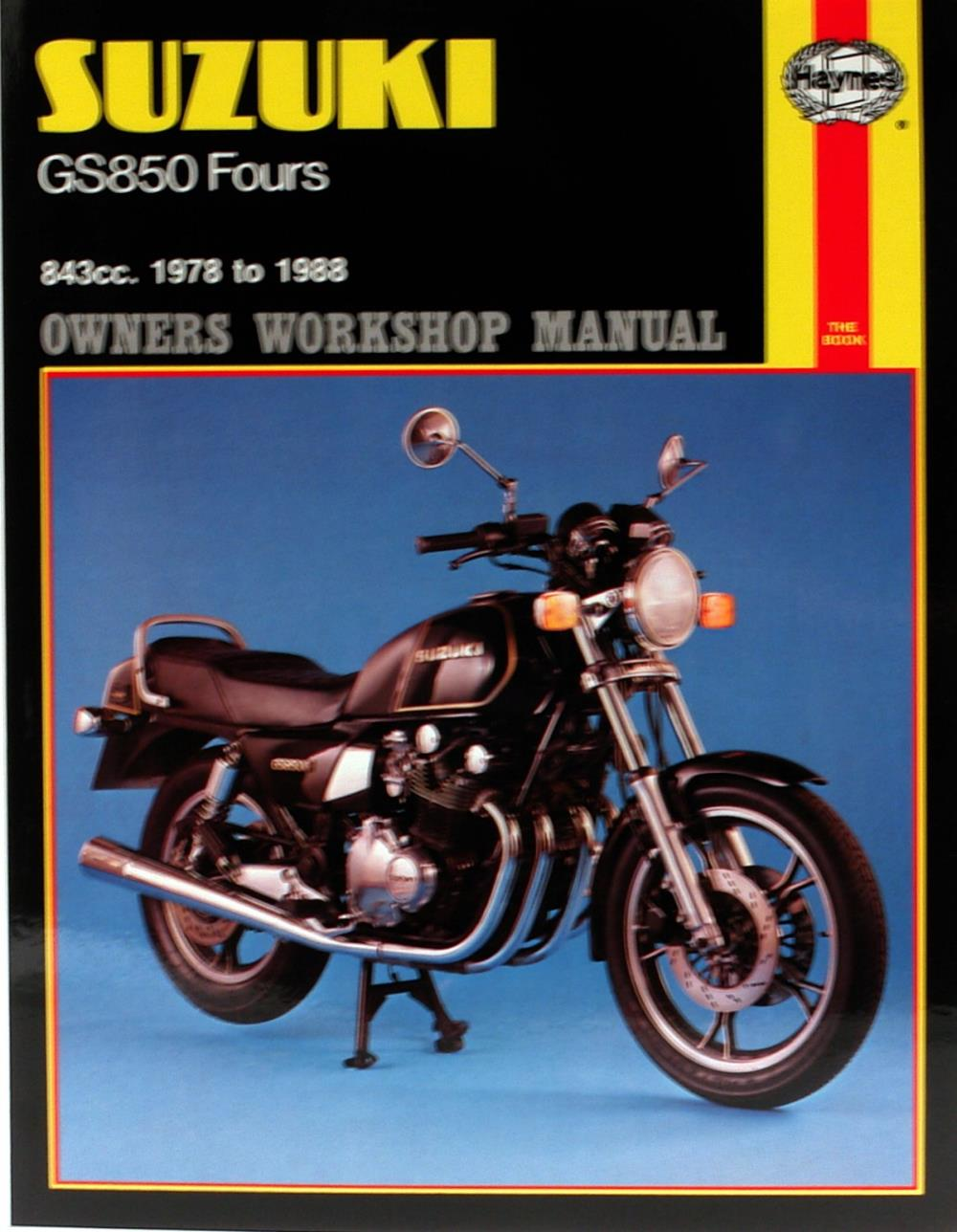 Image is loading Manual-Haynes-for-1980-Suzuki-GS-850-GT