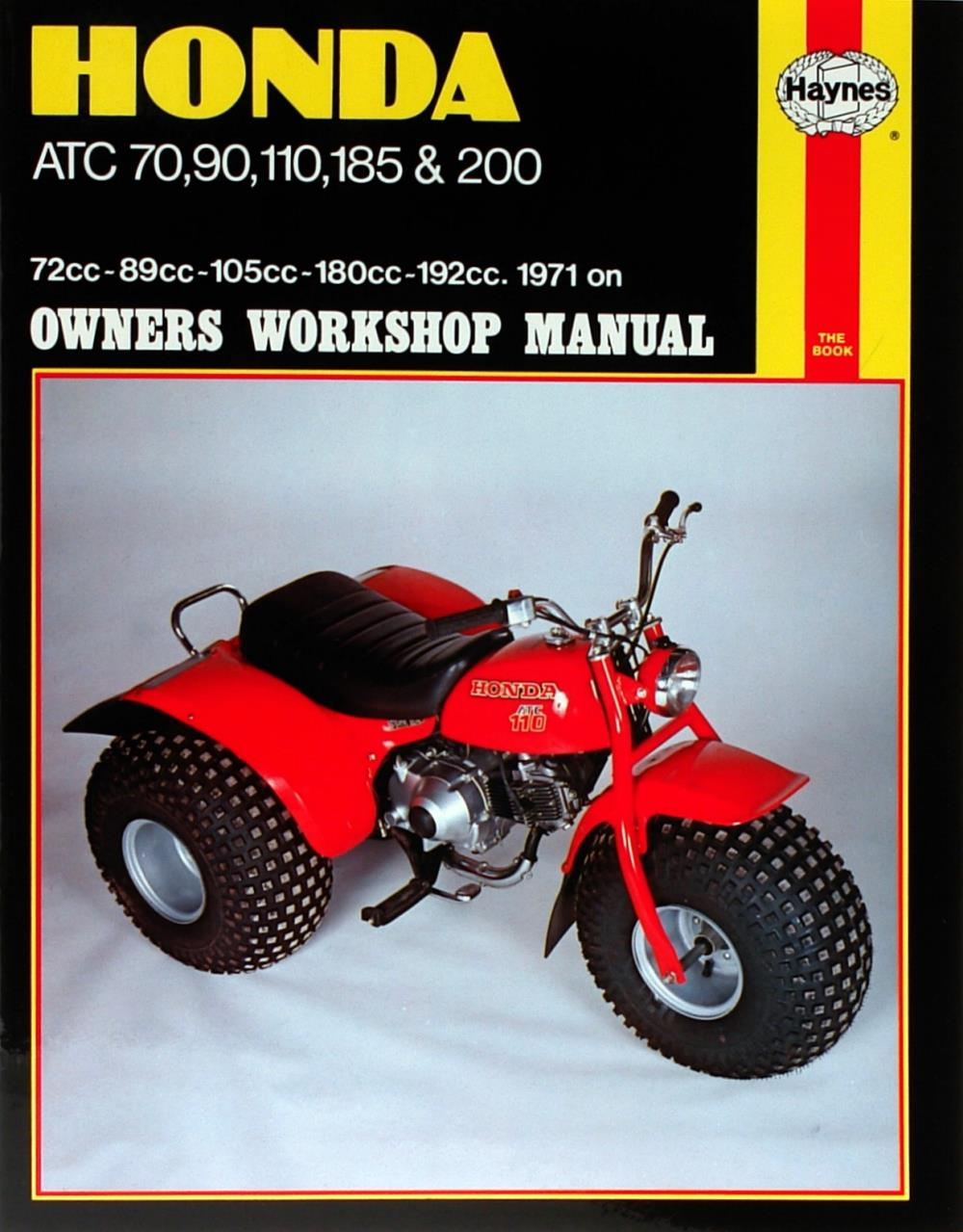 manual haynes for 1984 honda atc 200 es ebay rh ebay co uk 1984 Honda Big Red 250 1984 ATC 200ES Big Red
