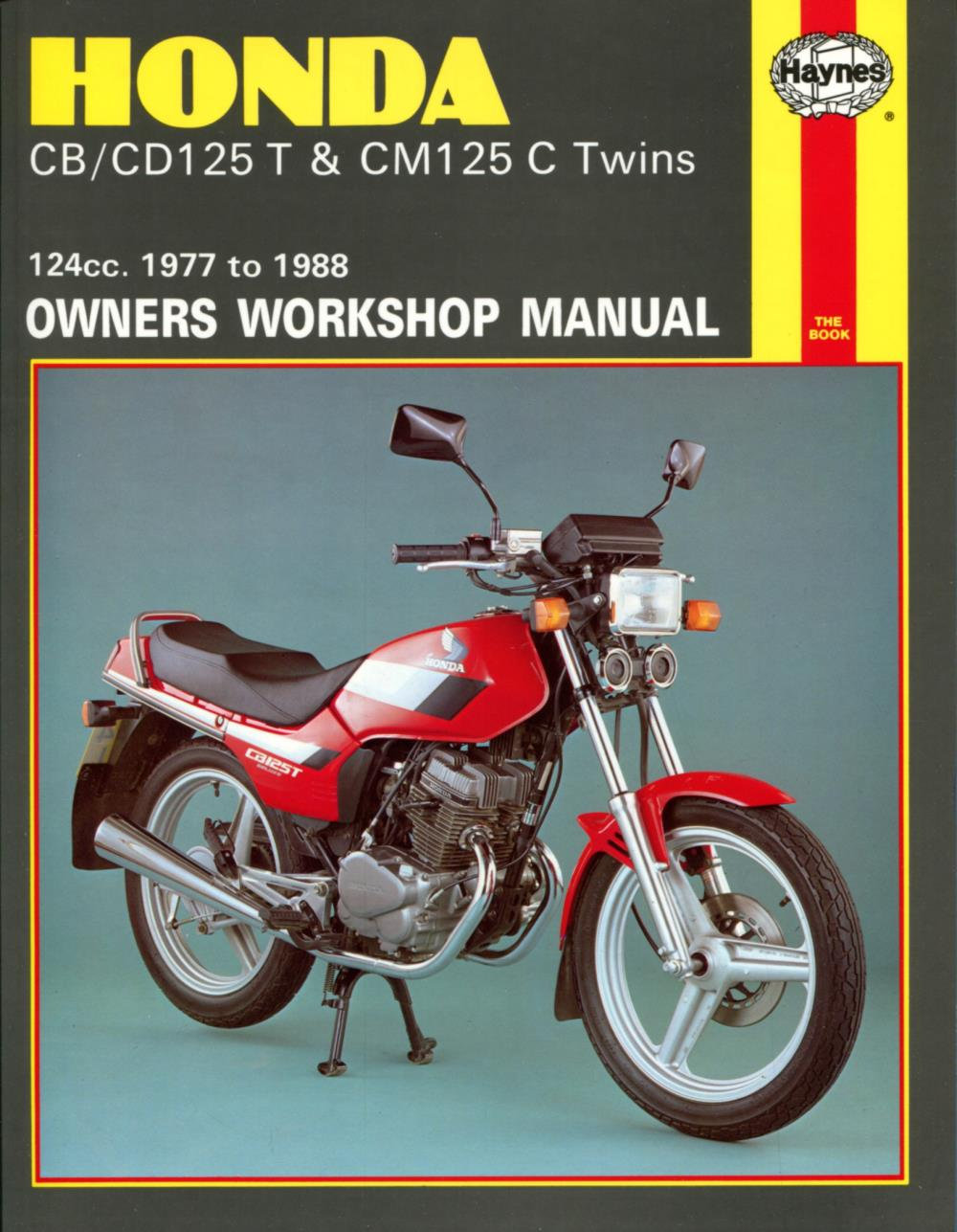 Manual-Haynes-for-1983-Honda-CB-125-TDC-Super-Dream