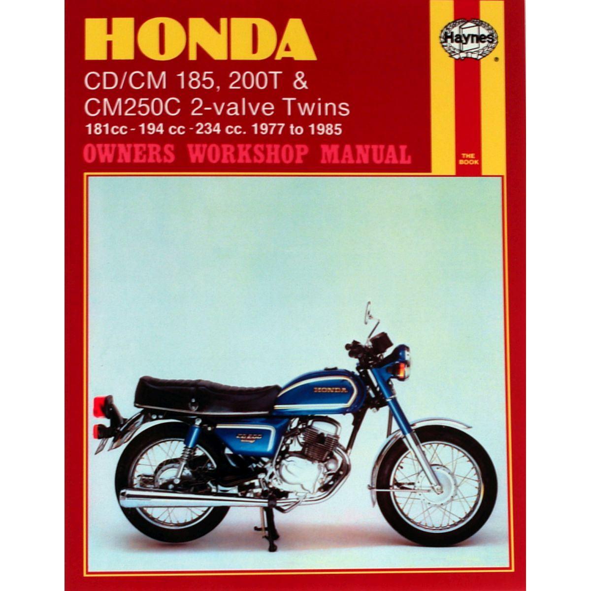 Image is loading Manual-Haynes-for-1980-Honda-CD-200-TA-