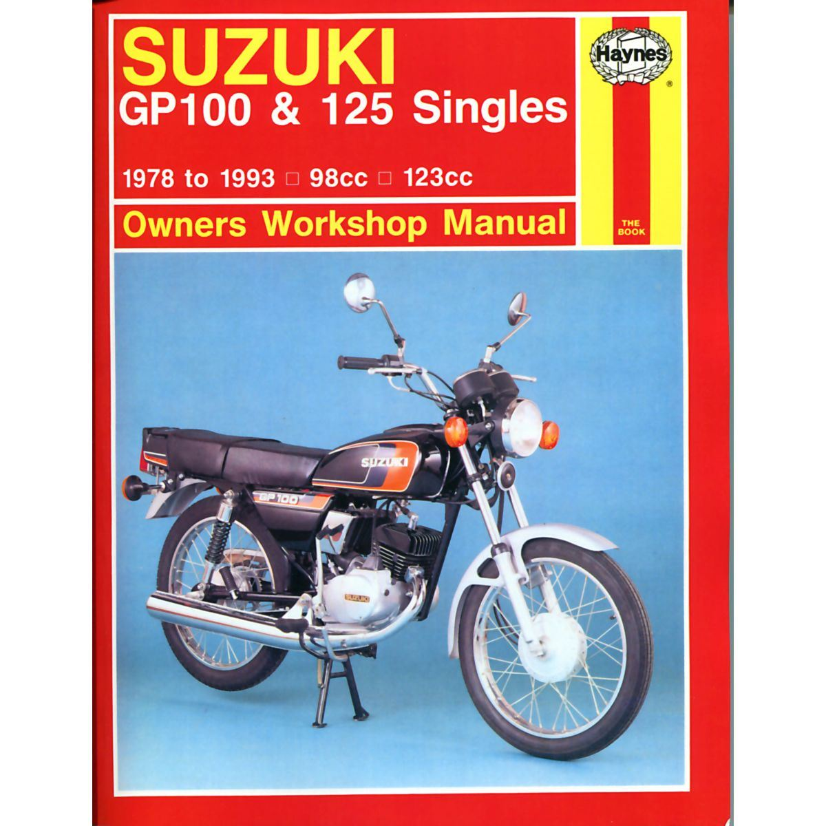 Manual Haynes For 1982 Suzuki Gp 100 Ux Front Rear Drum Ebay Moped Scooter Image Is Loading