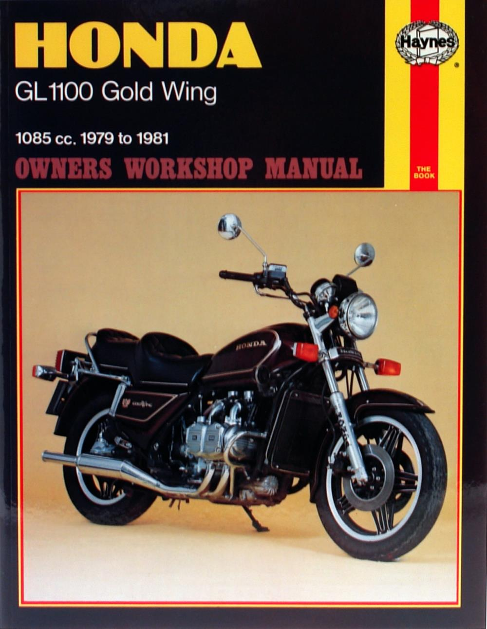 manual haynes for 1983 honda gl 1100 id gold wing interstate ebay rh ebay co uk 1987 Honda Goldwing 1986 Honda Goldwing
