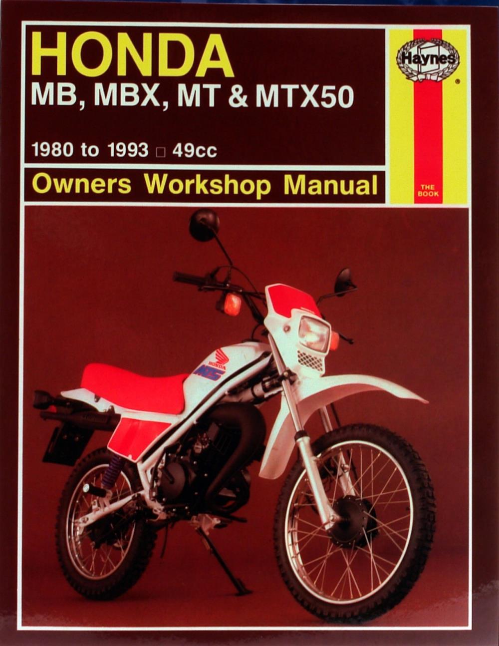 Image is loading Manual-Haynes-for-1984-Honda-MT-50-SE