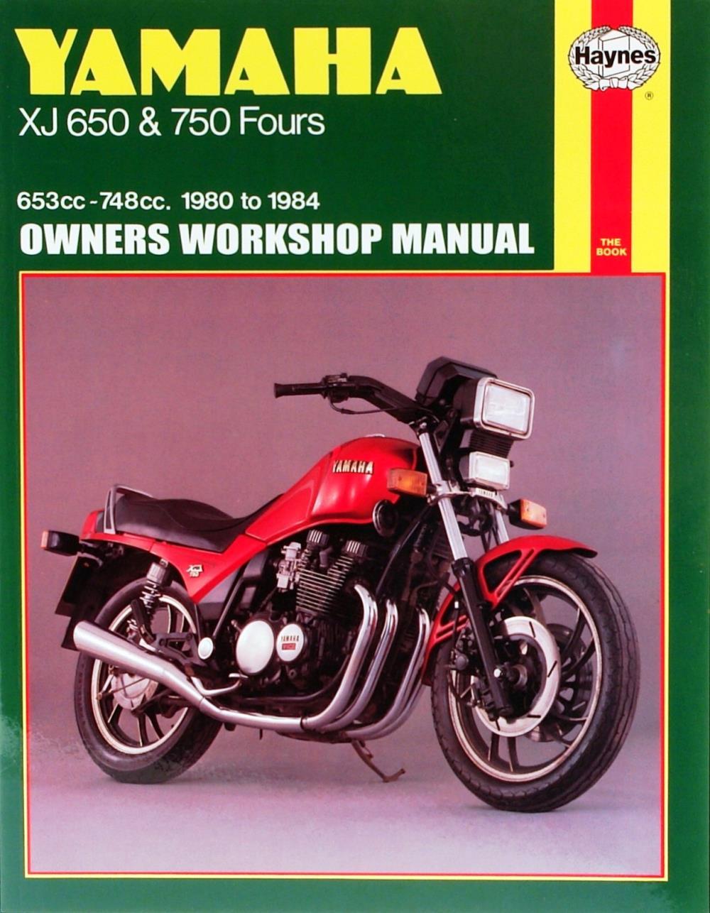 1982 Yamaha Maxim Owners Manual Xj650 Wiring Diagram Haynes For Xj 650 Uk Model Ebay Rh Co 550 Service