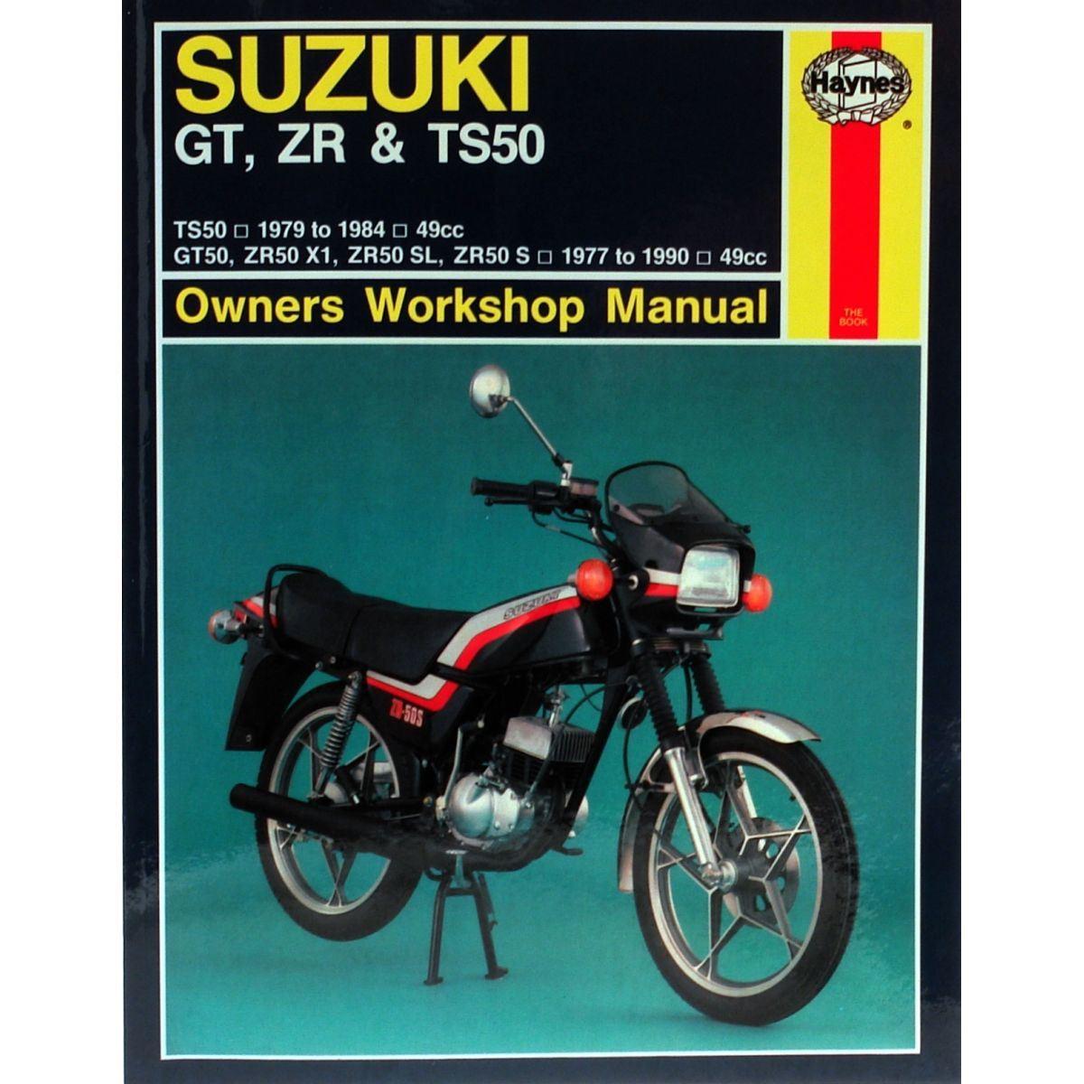 Manual-Haynes-for-1981-Suzuki-ZR-50-KEN-039-X1-039