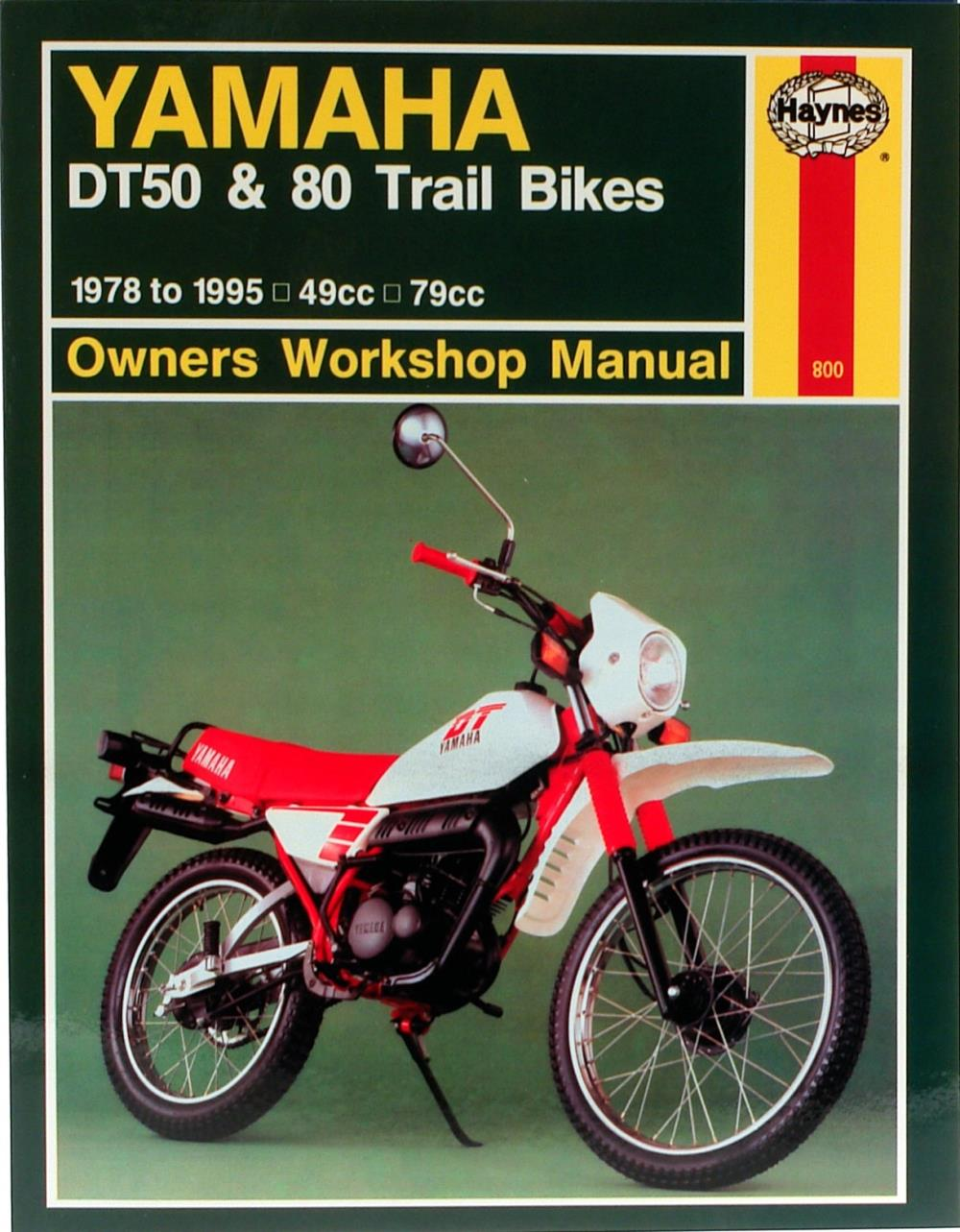 Image is loading Manual-Haynes-for-1988-Yamaha-DT-50-MX