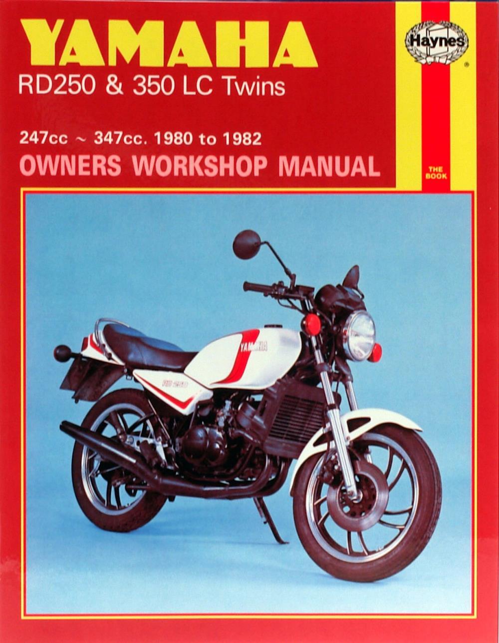 manual haynes for 1983 yamaha rd 350 lc ebay rh ebay co uk yamaha rd350 ypvs manual download yamaha rd350 ypvs manual download