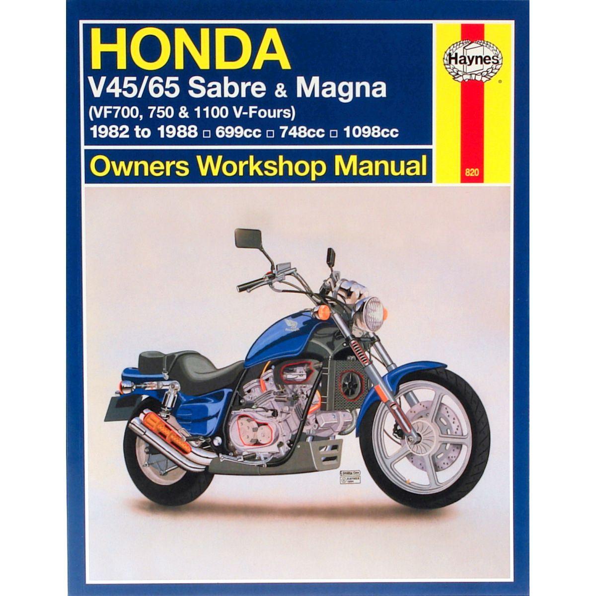 Image Is Loading Manual Haynes For 1984 Honda VF 1100 CE