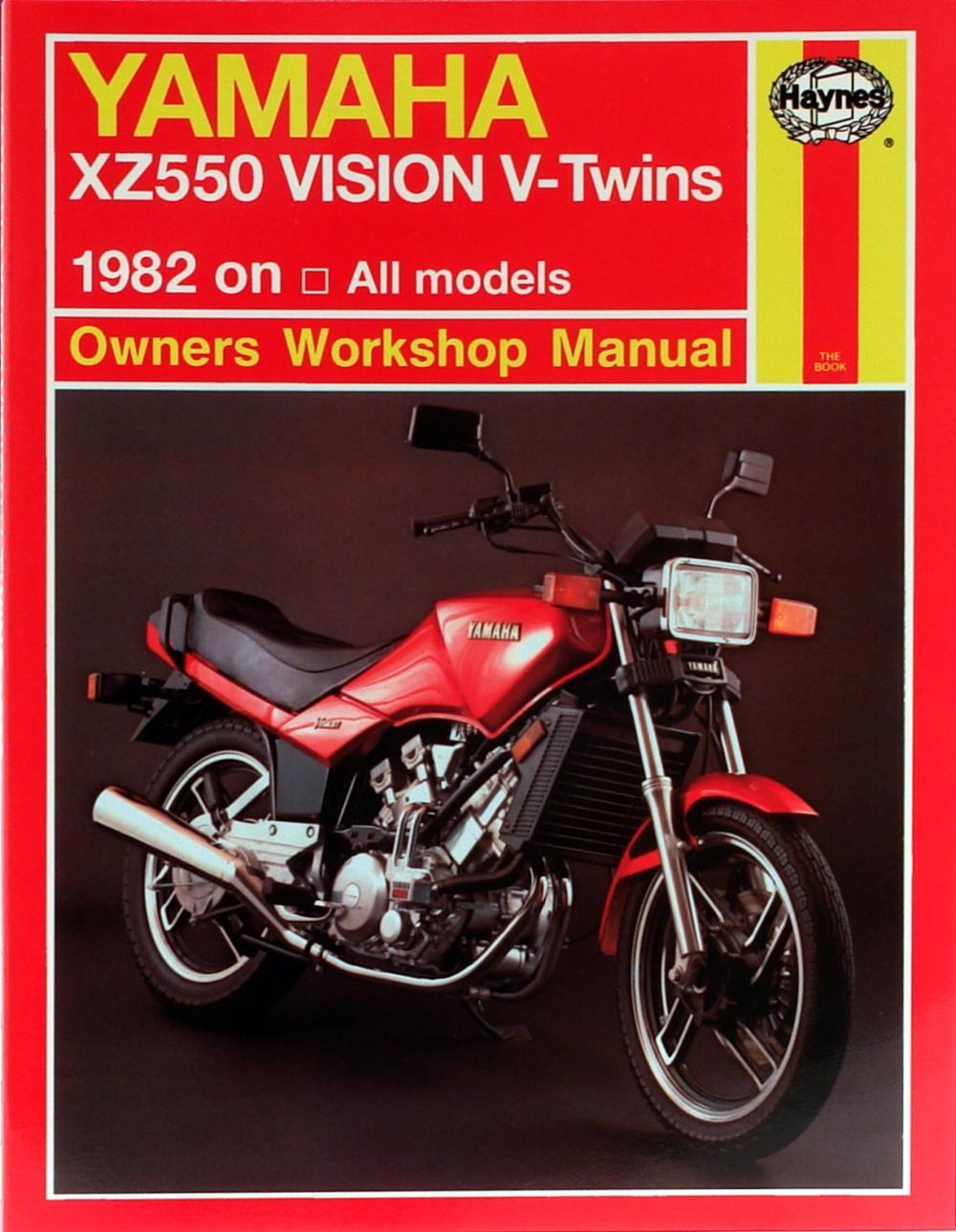 workshop manual yamaha xz550 1982 1985 ebay rh ebay co uk Yamaha Virago 500 1982 Yamaha Vision XZ550 Speedomoder