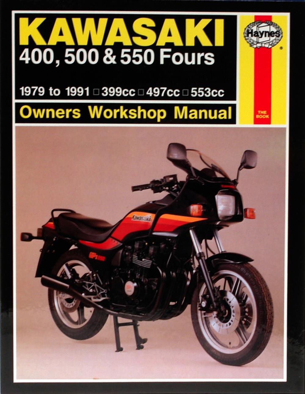 Image is loading Manual-Haynes-for-1992-Kawasaki-GT-550-Z550G8