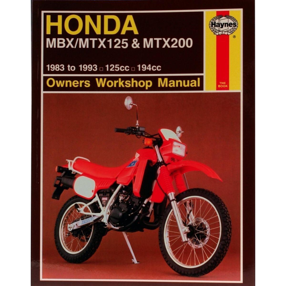 image is loading manual-haynes-for-1985-honda-mtx-125-rwe-