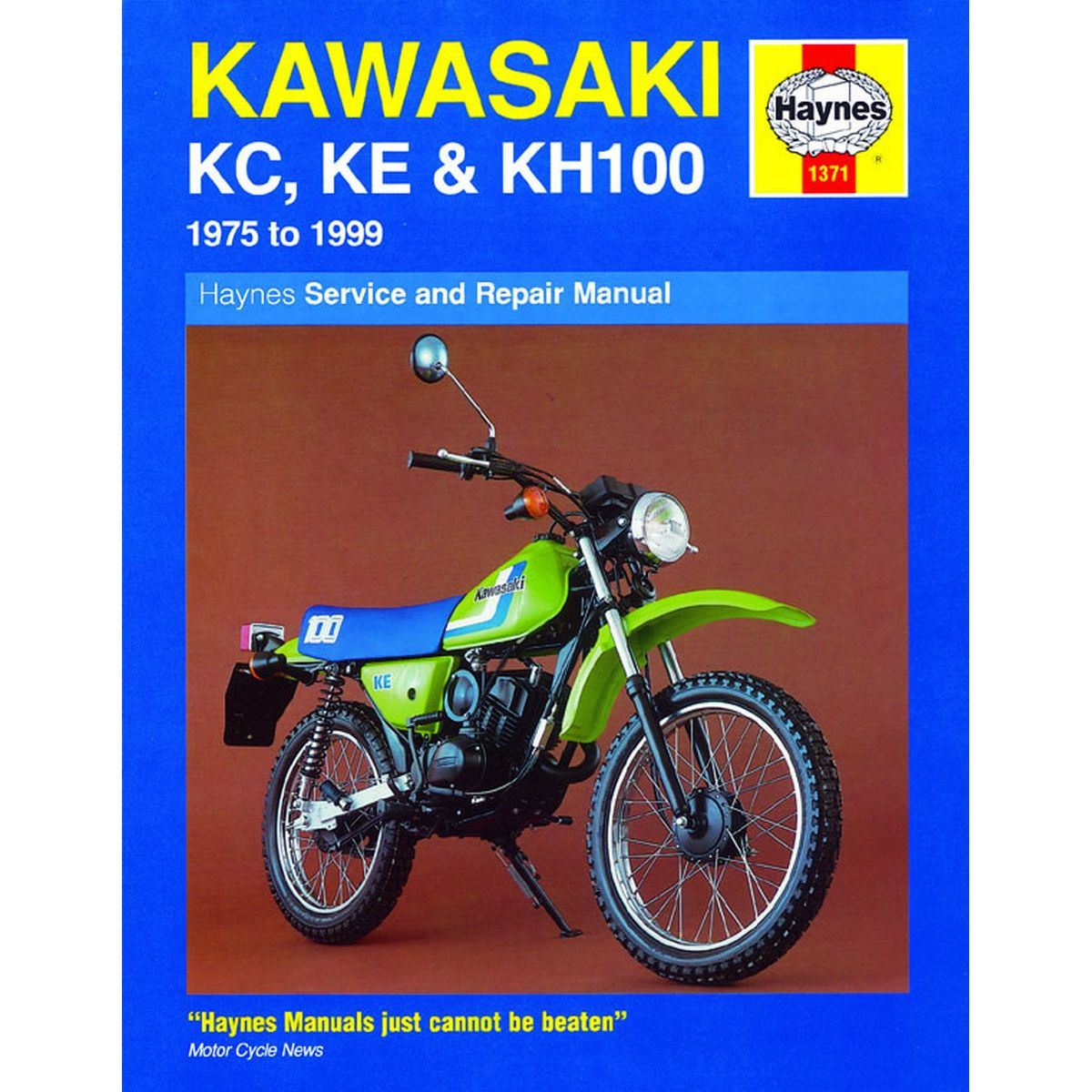 Image is loading Manual-Haynes-for-1993-Kawasaki-KE-100-B12
