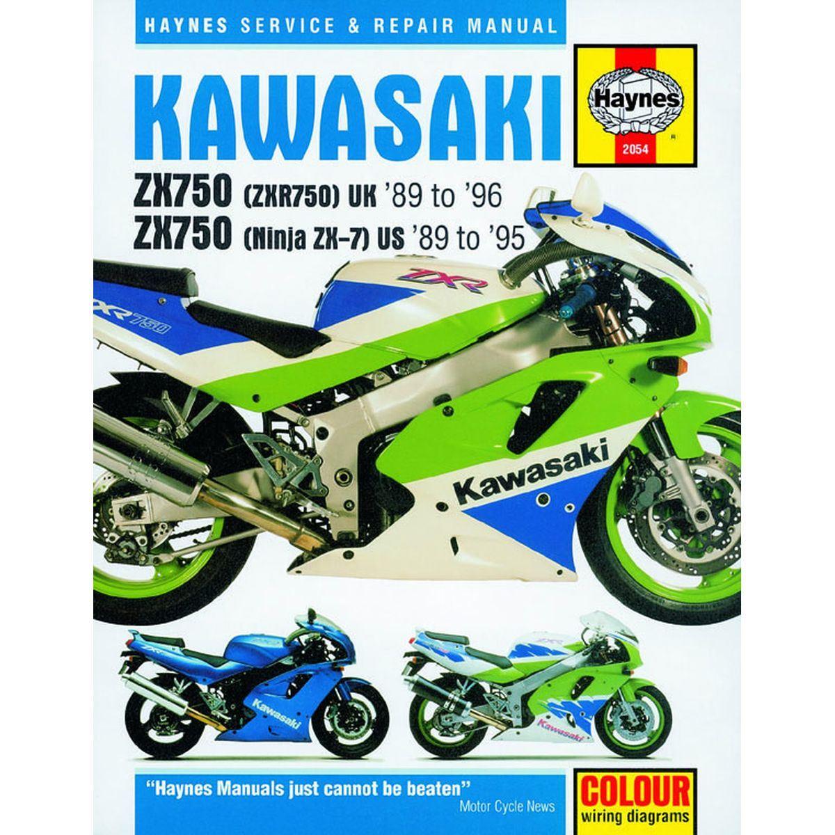 Image is loading Haynes-Manual-2054-KAW-ZX750-NINJA-ZX-7-