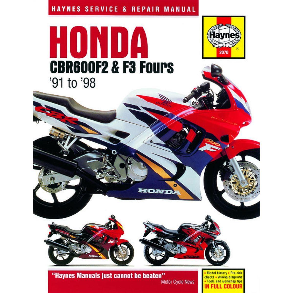 image is loading manual-haynes-for-1991-honda-cbr-600-f-