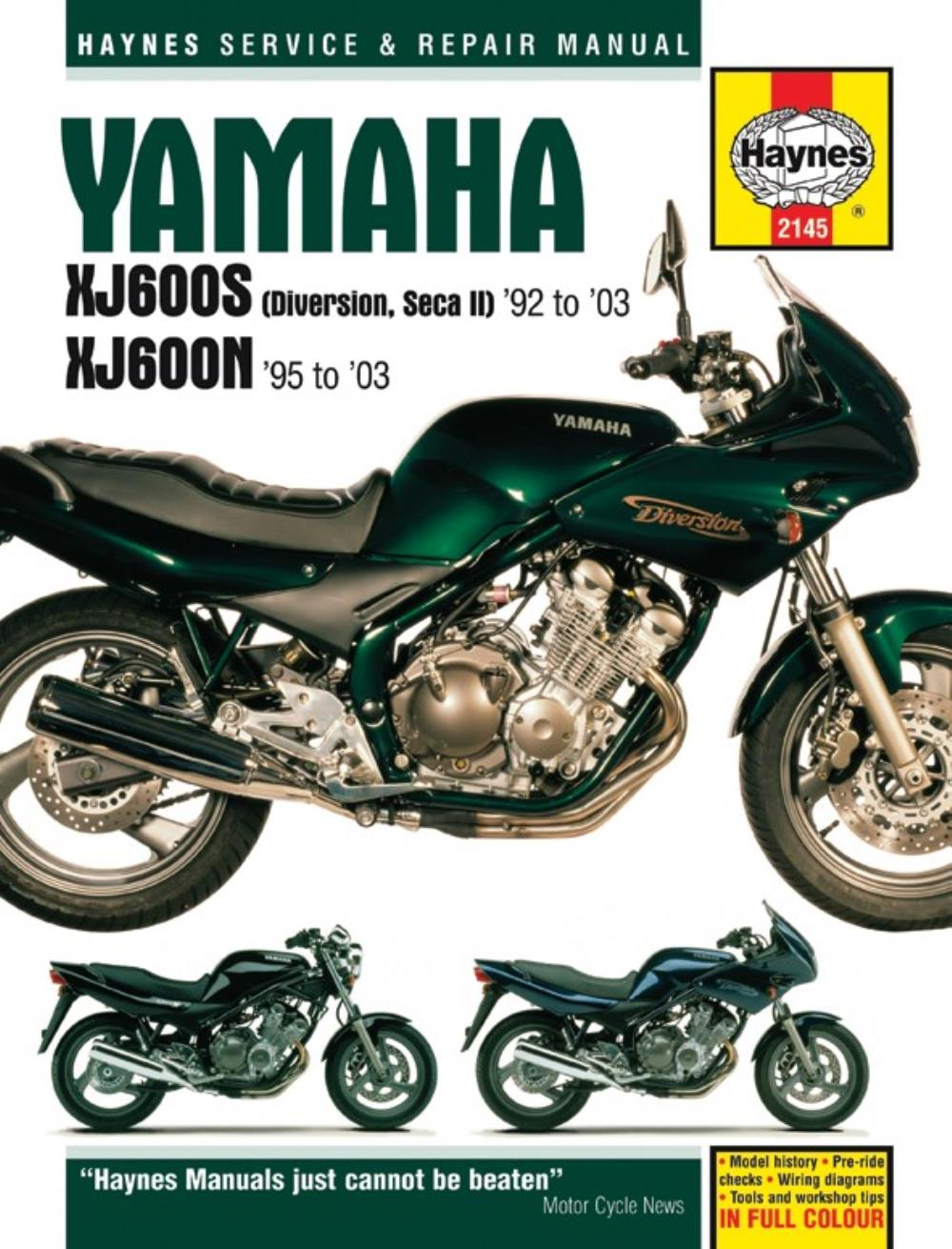 Yamaha xj 600 sh diversion 1995 haynes service repair manual 2145 ebay workshop manual yamaha xj600n xj600 diversion 1992 2003 asfbconference2016 Gallery
