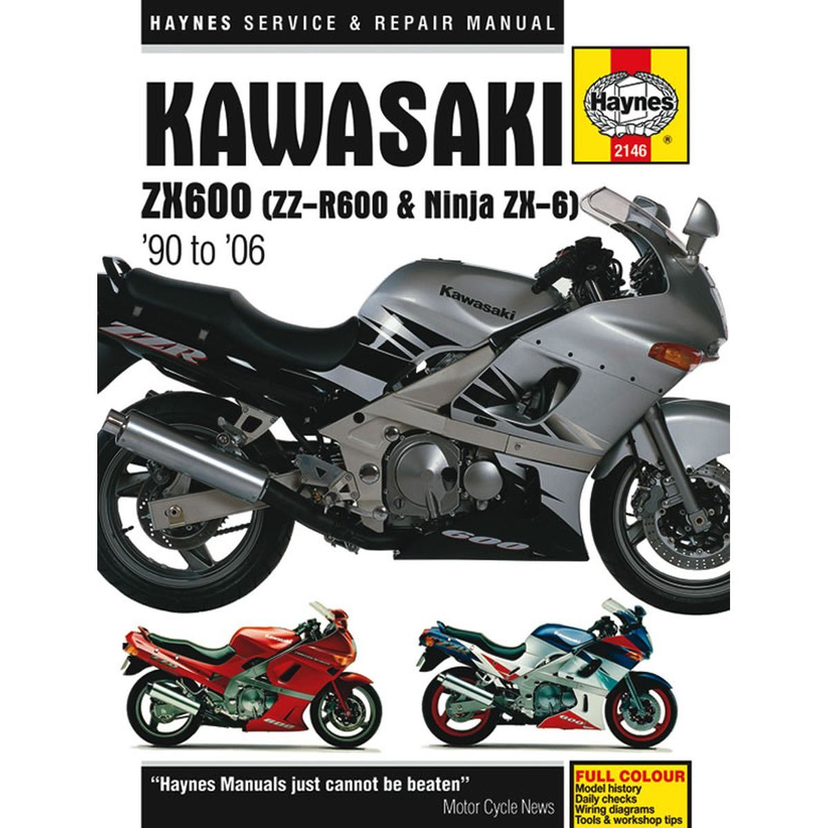 Manual Haynes for 1992 Kawasaki ZZR 600 (ZX600D3) | eBay on kawasaki mule 3010 ignition wiring diagram, kawasaki bayou 185 wiring-diagram, kawasaki kz550 wiring-diagram, kawasaki bayou 220 wiring diagram, kawasaki kz1000 wiring-diagram,