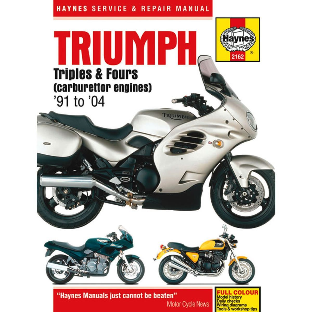 Image is loading Manual-Haynes-for-1999-Triumph-Trophy-1200-4-